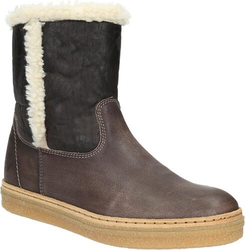 a39631c4f4 Weinbrenner Kožená zimná obuv s kožúškom - Glami.sk