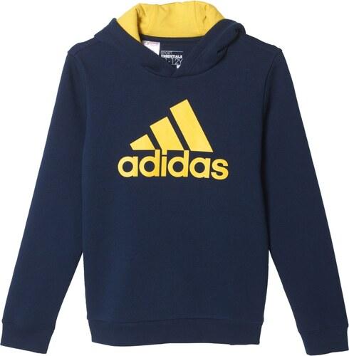 Dětská mikina adidas Yb Ess Logo Hd AY8247 - Glami.cz 60885c64444