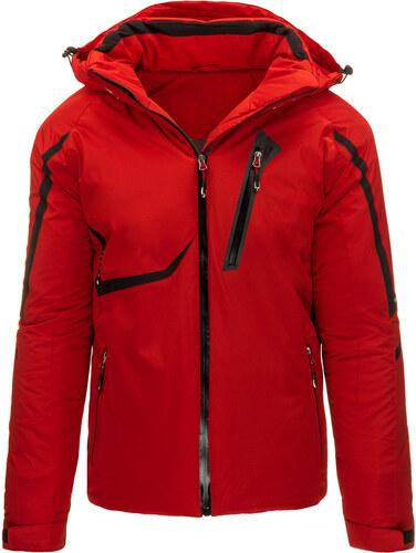 Pánska lyžařská červená zimná bunda (tx1433) odtiene farieb  červená ... 3de716960a9