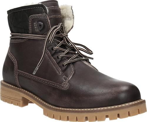 7371378630 Weinbrenner Dámska kožená zimná obuv - Glami.sk
