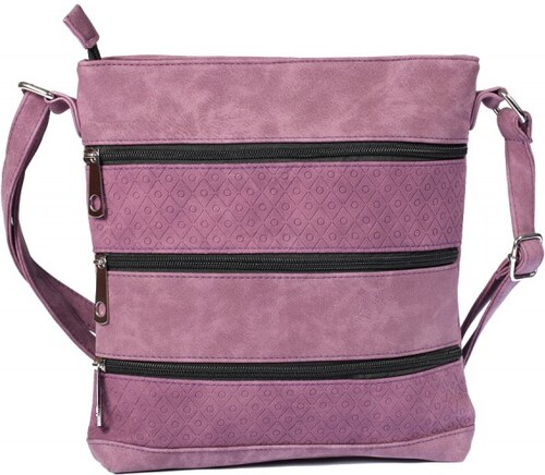 Dámská kabelka fialová R821 {name}