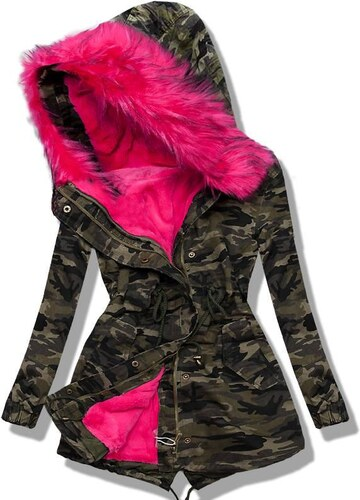 Army Parka pink 81078