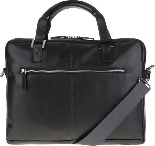 Čierna pánska kožená taška bugatti Manhattan - Glami.sk 05c5a0c49ce