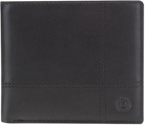 Černá pánská kožená peněženka bugatti Bradford - Glami.cz 36c632b4bb