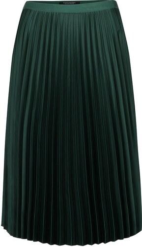 Tmavě zelená plisovaná sametová sukně Maison Scotch - Glami.cz b204580866