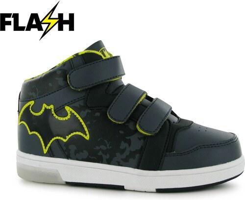Dětské svítící kotníkové tenisky Character Batman - Glami.cz 404fb76181
