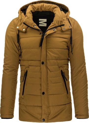 Pánska karamelová bunda (tx1457) odtiene farieb  hnedá - Glami.sk 44da0c8a7a7