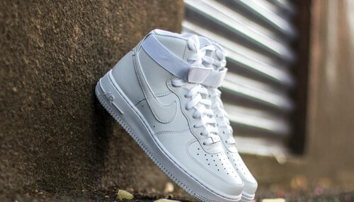 Nike Air Force 1 High  07 White  White - Glami.sk 9b09c6954db