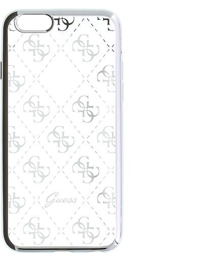 Zadní kryt Guess 4G TPU GUHCPSETR4GSI pro iPhone 5 5S SE - stříbrný ... 4e3f80a6e2a
