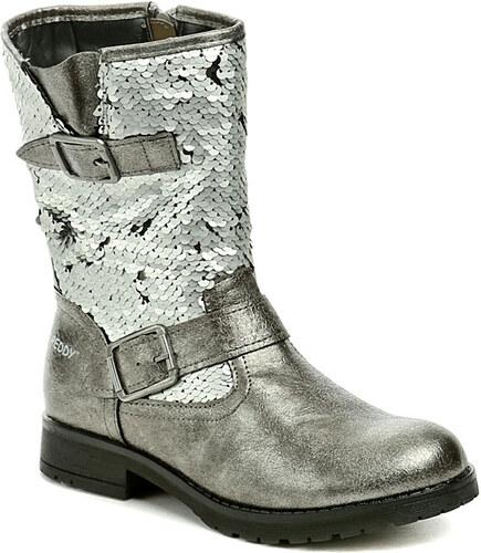 Peddy PX-533-31-06 stříbrné dětské zimní boty - Glami.cz 9e29101a91