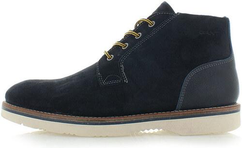 b811844bc Pánske tmavomodré členkové topánky Gant Huck - Glami.sk