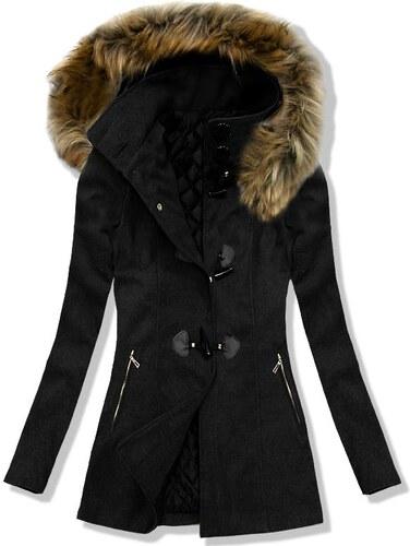 Mantel schwarz 3356
