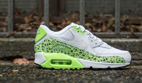 super popular 3223a 084d5 Nike Wmns Air Max 90 Premium White  White-Ghost Green