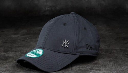 b644290e394 New Era 9Forty Adjustable Major League Baseball Flawless Logo New York  Yankees Cap Black
