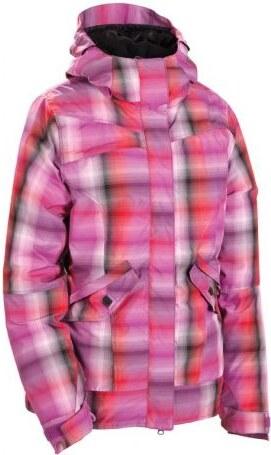 Dámská bunda 686 Reserved Passion pink yarn dye plaid