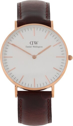 -20% Dámské hodinky ve zlaté barvě CLASSIC Bristol Daniel Wellington ea5a808c4e4