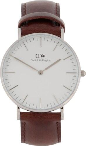 Dámské hodinky ve stříbrné barvě CLASSIC Bristol Daniel Wellington ... 59e82cd26cf