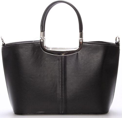 Delami Kabelky Elegantní černá dámská kabelka do společnosti - Sabrina  Delami 92a9de8949