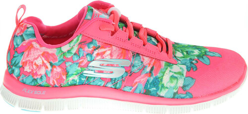 48535ce0c36 Skechers Wildflowers hot pink-multi - Glami.sk