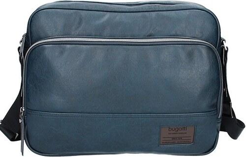 Pánská taška přes rameno Bugatti Moto D - tmavě modrá - Glami.cz 1d4c9a47a26