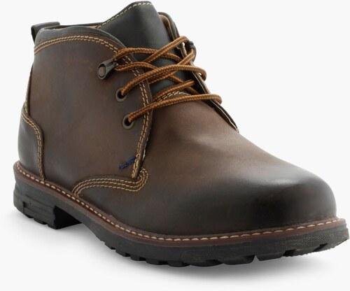 Boots en cuir nubuck fourrées Marron uKNEtjJ