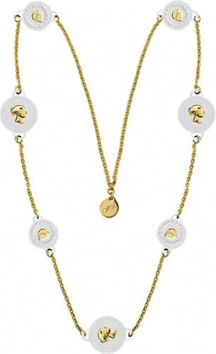 Ops! Objects náhrdelník Trésor biely - Glami.sk f9da2488dbc