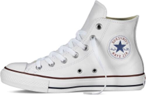 Converse bílé dámské boty Chuck Taylor All Star Leather White - Glami.cz 7f6a03fdb5