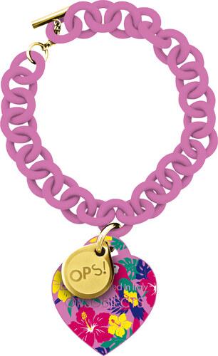 Ops! Objects náramok Tropic ružový - Glami.sk 2aeb69307fc