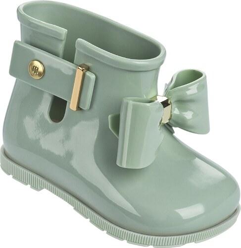 Melissa zelené detské členkové topánky Sugar Rain Bow Green - Glami.sk 024cd4579bf