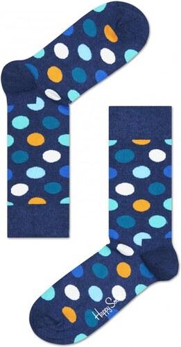 44cd548d4e9 Happy Socks modré ponožky s puntíky Big Dot - 41-46 - Glami.cz