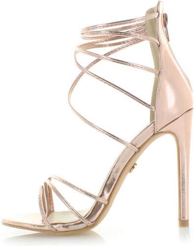 7e89c6e66965 United Fashion Ružovo-zlaté sandále Mamus - Glami.sk