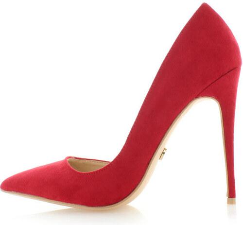United Fashion Červené lodičky Kamela - Glami.sk 68c8210ff0