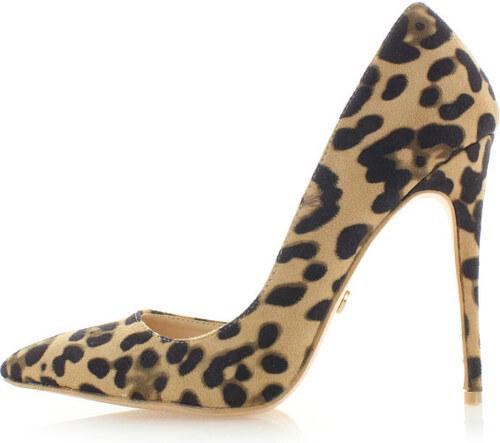 3f42c0e7415c United Fashion Leopardí lodičky Kamela - Glami.cz
