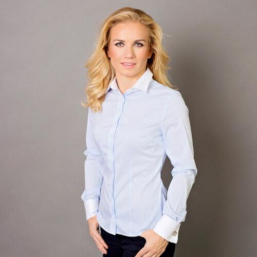 Dámská košile Willsoor 5762 v bílé barvě ebd76d745e