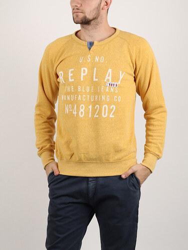 Mikina Replay POLY-COTTON FLEECE - Glami.cz d7d6da92d93