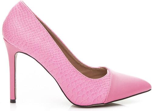 SERGIO TODZI Dámske luxusné lodičky - ružové - Glami.sk 6f0da3315e