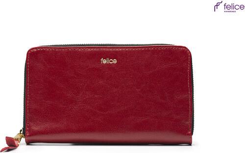 13c8c46b07 ELEGANTNA kožená červená peňaženka Felice (P01 cz) odtiene farieb  červená