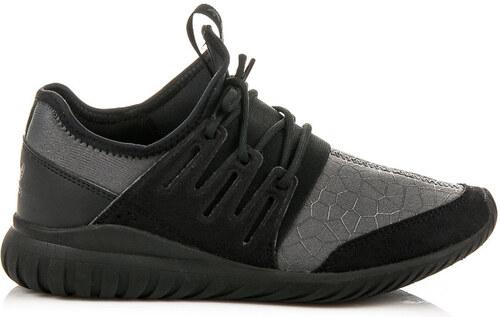 ADIDAS Pohodlné černo-šedé sportovní tenisky na gumové podrážce ... 2d1a1d1496