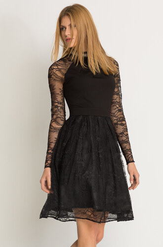 Orsay Čipkované šaty s tylovou sukňou - Glami.sk 62350c712d9
