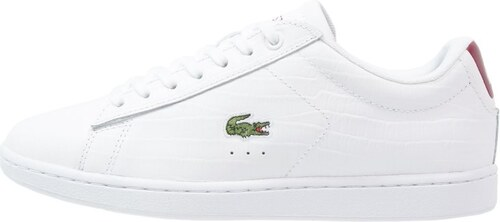 Lacoste CARNABY EVON Baskets basses weiß rot