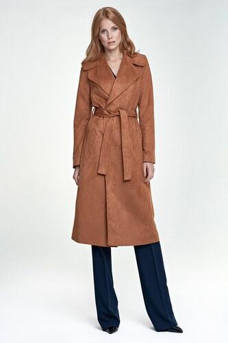 Dlouhý dámský kabát 7b1aa8b1c21