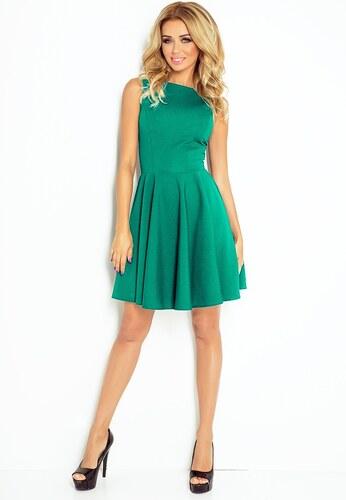 ea560ada555f Strikingstyle 125-6 Elegantné rozšírené šaty   zelené - Glami.sk