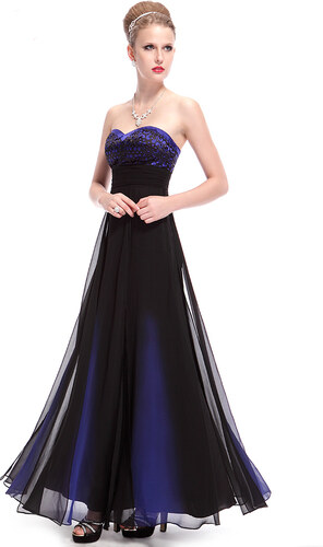 Ever-Pretty Dlouhé šaty v barvě noční oblohy - Glami.cz b7d9b9c47f