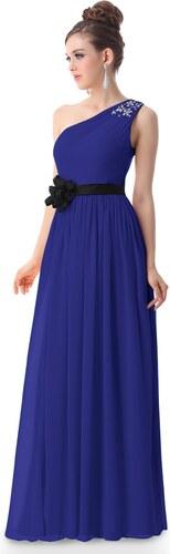 5cc2ee445ed6 Ever-Pretty Modré šaty antického střihu - Glami.cz