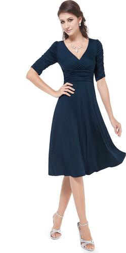 Ever-Pretty Strečové námořnicky modré šaty pro každou příležitost ... bbda06da46