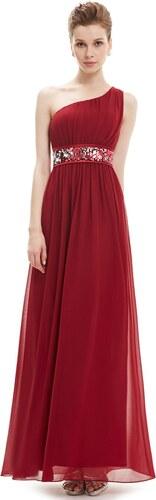 ad864629e2ad Ever-Pretty Vínově červené večerní šaty antického střihu - Glami.cz