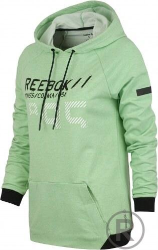 3ef7b0f6c8a Reebok Dámská sportovní značková mikina Reebok WOR C HOODIE - AO0892 ...