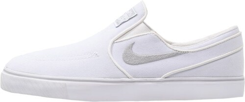 Nike SB ZOOM STEFAN JANOSKI Mocassins white/wolf grey
