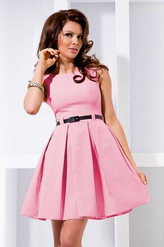 NUMOCO Dámské šaty Elegantis růžové - Glami.cz f4b2f1808b