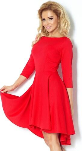 Dámske šaty Numoco 90-4 červené vzadu predĺžené - Glami.sk c909e68e139